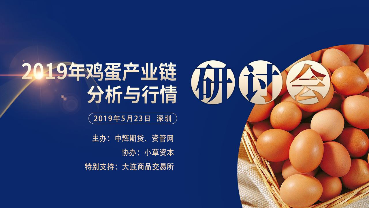 2019年鸡蛋产业链分析与行情研讨会
