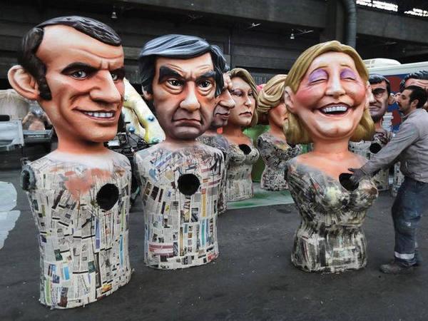 贝叶斯的世界:法国大选